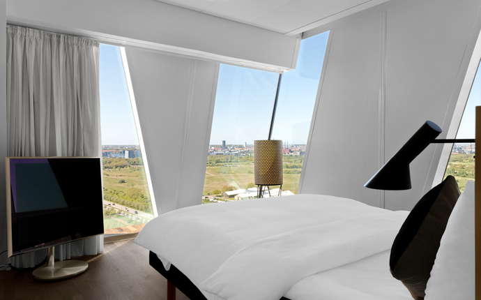 AC Hotel Bella Sky Copenhagen - Nyd udsigten fra et af vores 811 værelser.