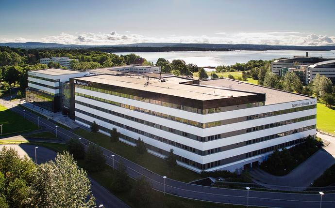 Quality Hotel Expo, Fornebu - Hotellet mot fjorden