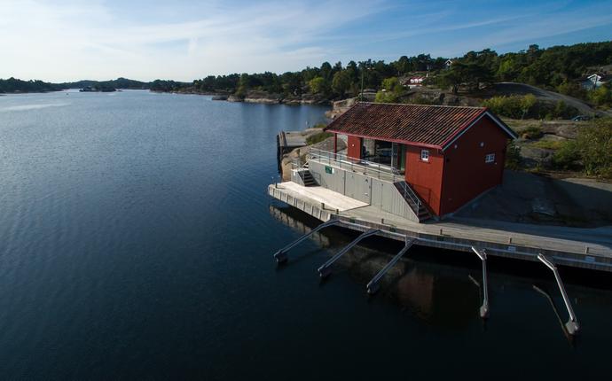Engø Gård Hotel & Restaurant - Sjøboden kun 7 min gange fra tunet