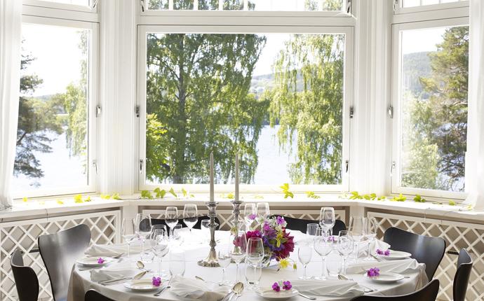 Thorbjørnrud Hotell - Middag i direktørboligen