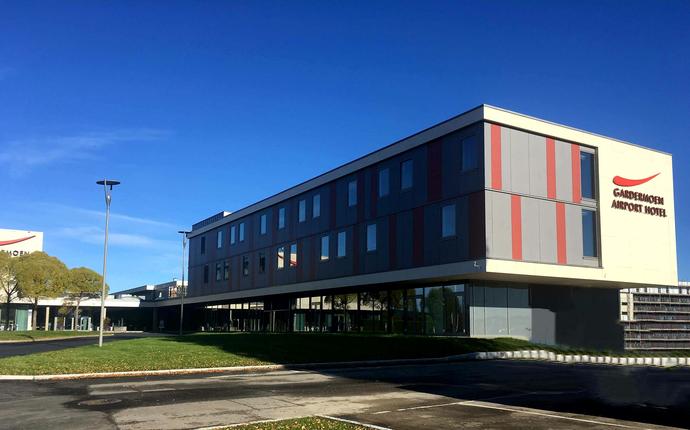 Gardermoen Airport Hotel - Fasade
