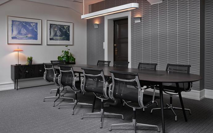Grand Hotel Terminus - I 7. etasje har vi et eget møtesenter med 8 nyoppussede møterom. Kapasitet til 50 i det største.