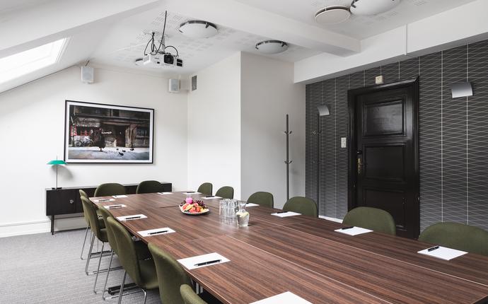 Grand Hotel Terminus - Møterommene i 7.etg. passer godt til mindre møter, gruppearbeid og styremøter.