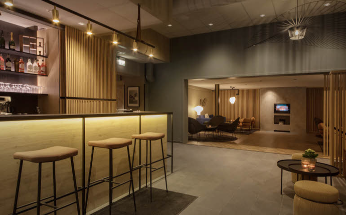 Scandic Victoria, Lillehammer - Lobby/bar
