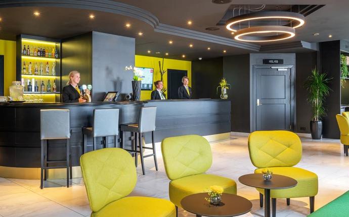 Thon Hotel Moldefjord - Resepsjon