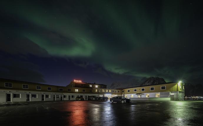 Scandic Vestfjord Lofoten - Fasade