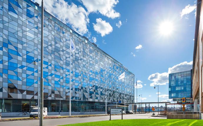 Radisson Blu Riverside - fasade