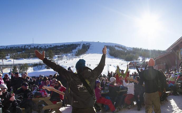 Vattufjäll konferansesenter - After ski