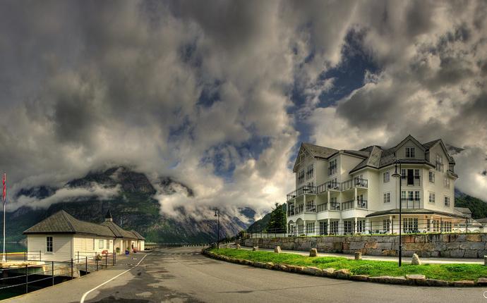 Quality Hotel Vøringsfoss - fasade