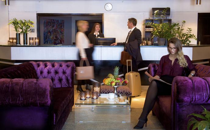 Vinger Hotell & SPA - Resepsjon