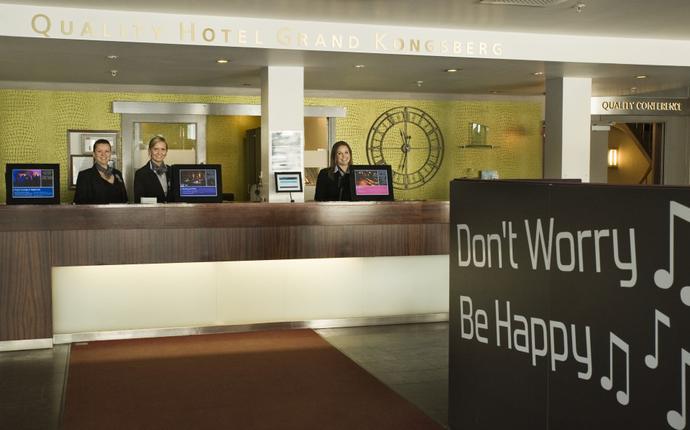 Quality Hotel Grand, Kongsberg - Resepsjon