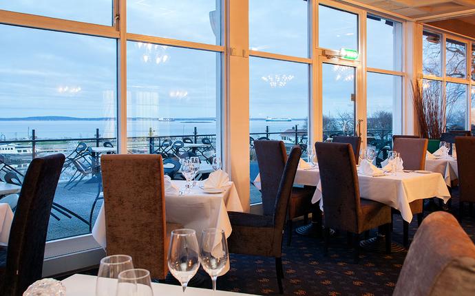 Grand Hotel Åsgårdstrand - Restaurant utsikt