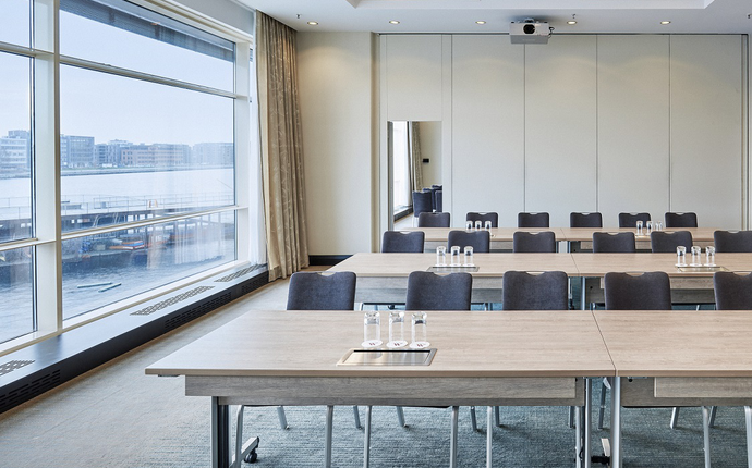 Copenhagen Marriott Hotel - Hotellets mødelokaler er fleksible og kan opstilles efter ønske.