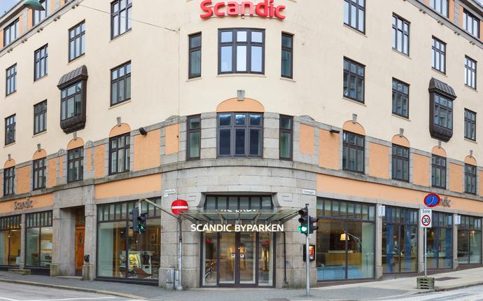 Scandic Byparken - Fasade