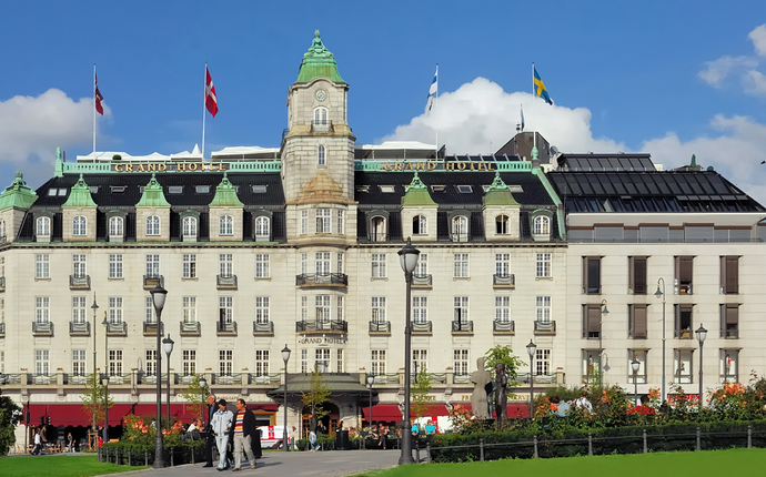 Grand Hotel Oslo - Fasade Grand Hotel