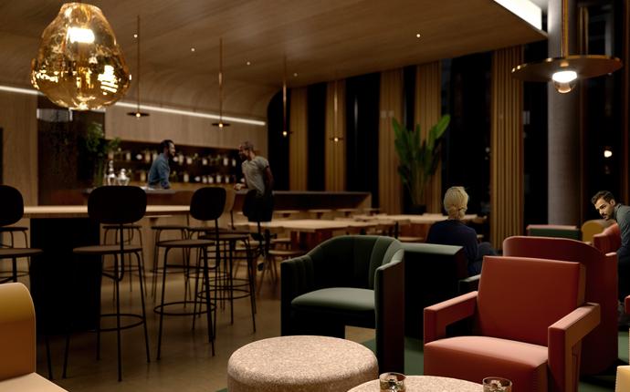 Quality Hotel Hasle Linie - åpner 25.08.21 - Taffelbar