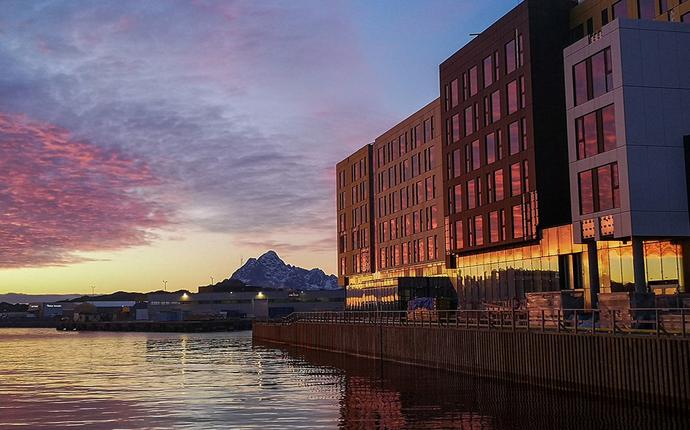 Thon Hotel Svolvær - åpner 02. juli 21