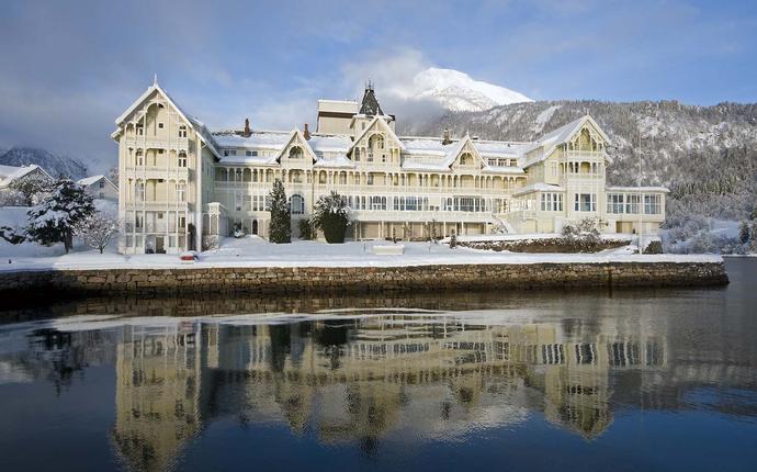 Kviknes Hotel - Vakkert om vinteren