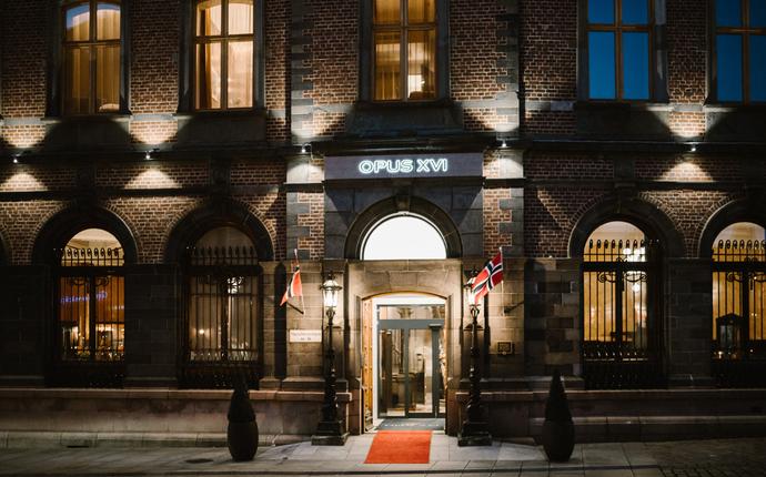 Opus XVI - Inngang & Fasade Opus XVI