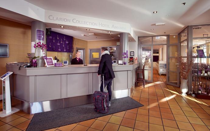 Clarion Collection Hotel Amanda - Resepsjon