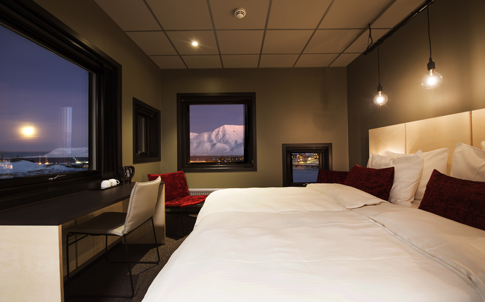 Svalbard Hotell / The Vault - Rom Svalbard Hotell The Vault