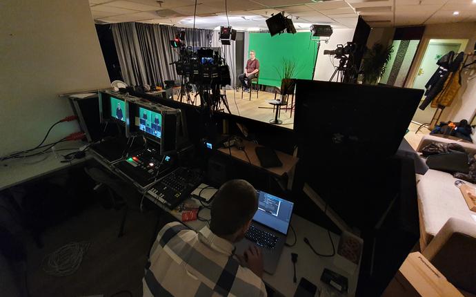 Felix konferansesenter - digitalt studio