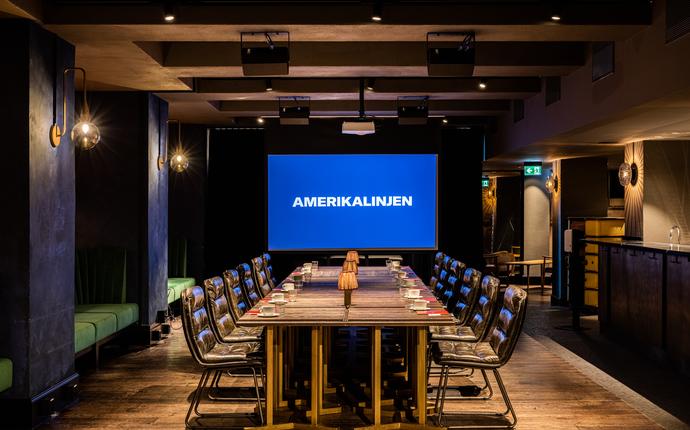 Amerikalinjen - Gustav Meeting & eventlokale