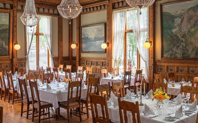Thon Hotel Sandven, Norheimsund - Restaurant