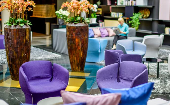 Radisson Blu SkyCity Hotel Arlanda Airport - Lobby