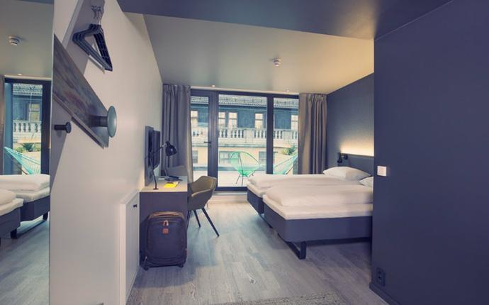 Comfort Hotel Xpress Central Station - Superiorrom med balkong
