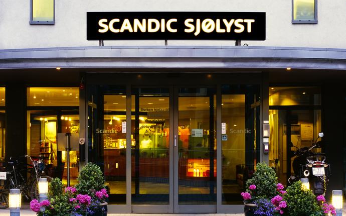 Scandic Sjølyst - Inngang