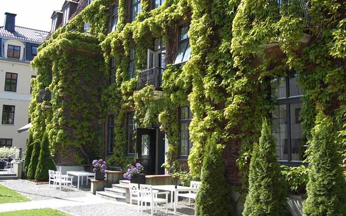 Clarion Collection Hotel Gabelshus - Uteområdet