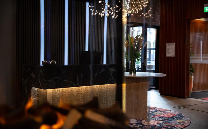 Thon Hotel Prinsen - Resepsjonen