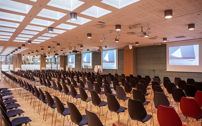 NHO Møtesenter - Gustav Vigeland mot lerret