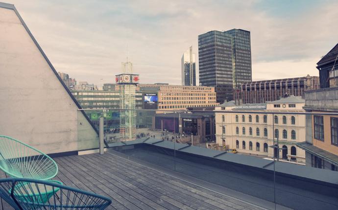 Comfort Hotel Xpress Central Station - Utsikt fra balkong