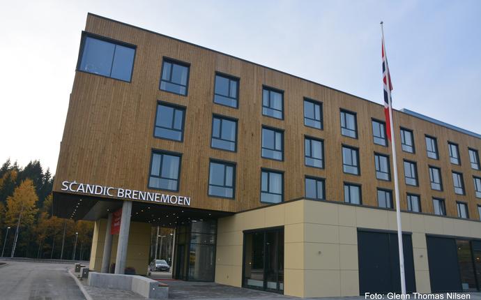 Scandic Brennemoen - Fasade