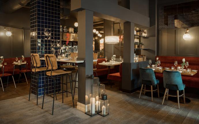 Bygdøy Allé 3 - Restauranten