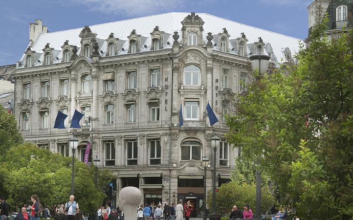 Karl Johan Hotell - Fasade