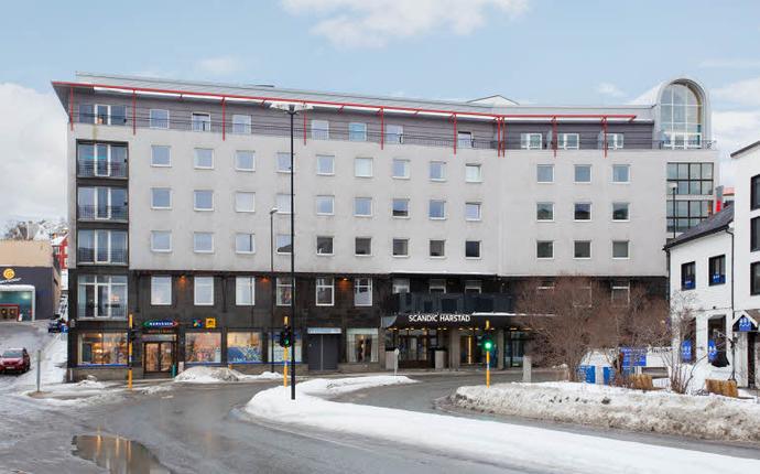 Scandic Harstad - Fasade