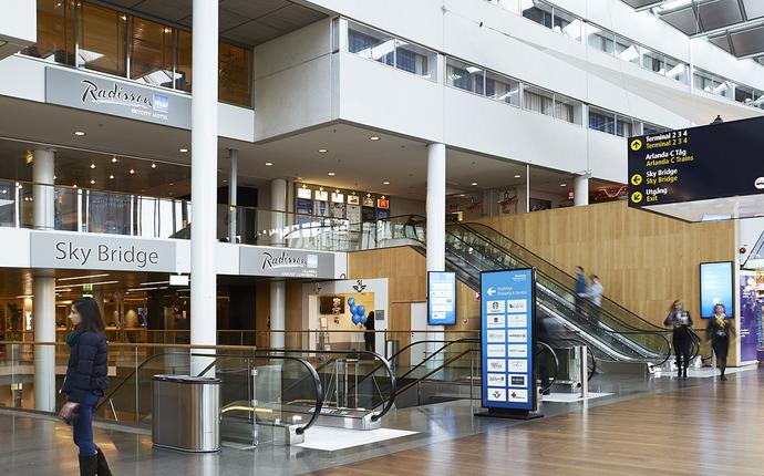 Radisson Blu SkyCity Hotel Arlanda Airport - Hotelinngang