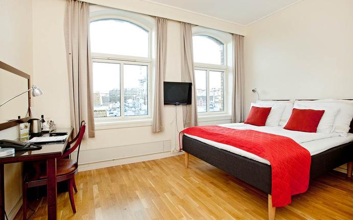 Victoria Hotel Stavanger - Mange av våre flotte hotellrom har havutsikt