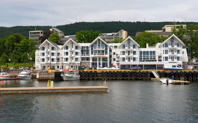 Molde Fjordstuer - Fasade