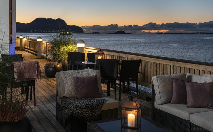 Quality Hotel Ålesund - Terrasse utsikt