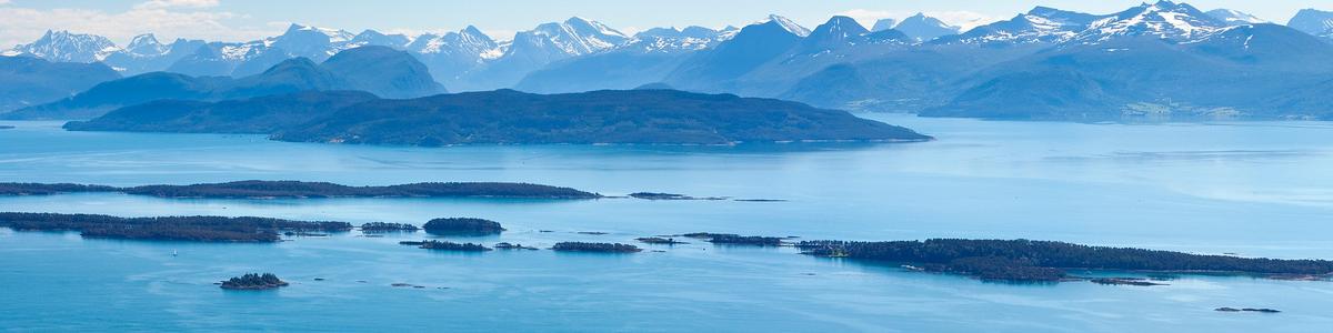 Molde panorama - utsikt fra Varden