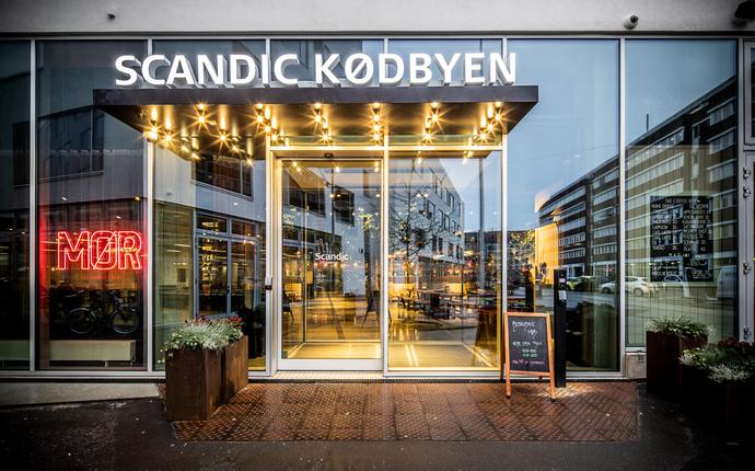 Scandic Kødbyen - Inngang