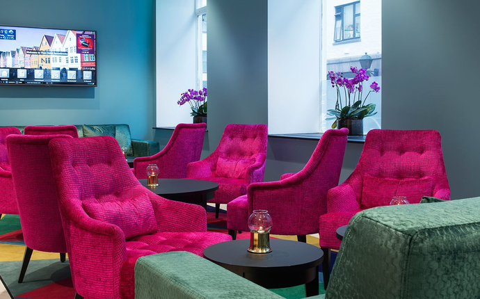 Thon Hotel Rosenkrantz, Bergen - Lobby