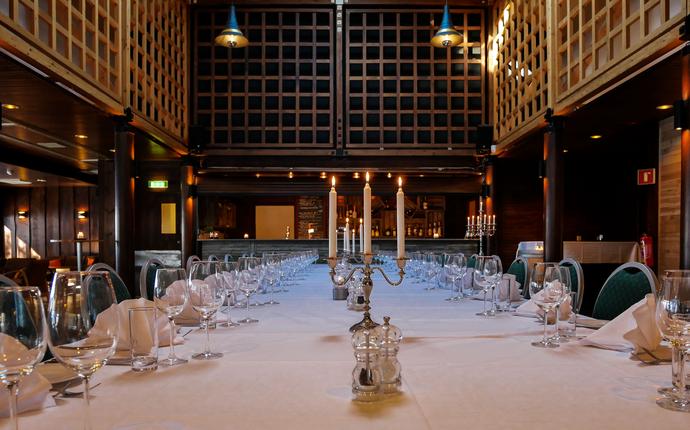 Sørmarka Konferansehotell - Chambre separe Gildesalen