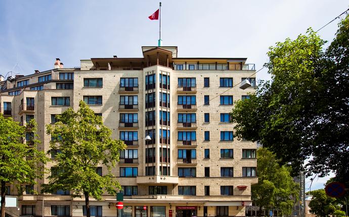 Thon Hotel Slottsparken - Fasade