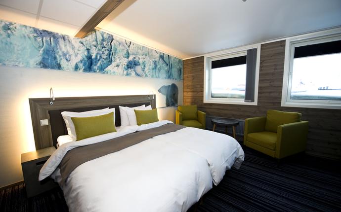 Svalbard Hotel Polfareren - Hotellrom