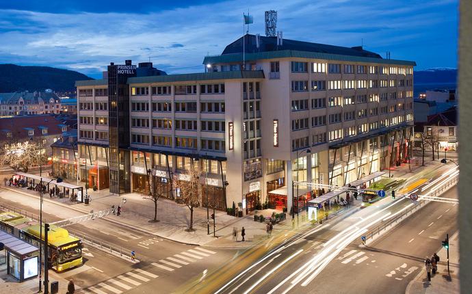 Thon Hotel Prinsen - Fasade